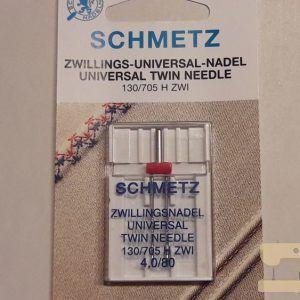 Schmetz tweelingnaald universeel