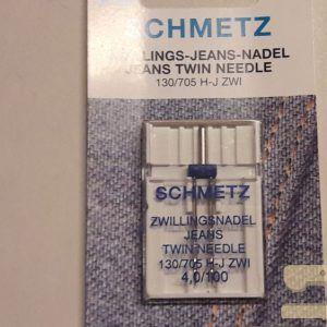 schmetz tweelingnaald jeans