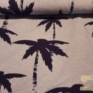 Terry palmbomen flock blauw