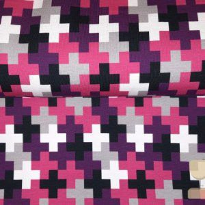 Crazy Shapes Swafing plusjes pink/purple