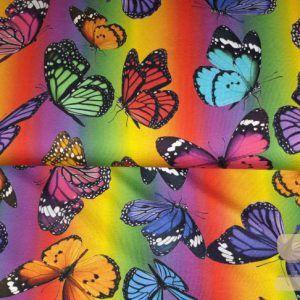 Digitale print Stenzo vlinders
