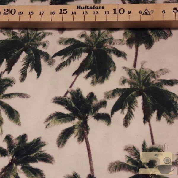 Digitale tricot Stenzo palmbomen