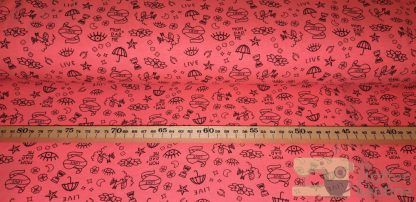 Tricot neon tattoos roze