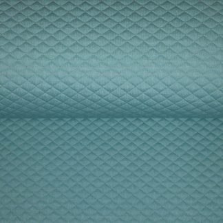 Sweat quilt double face mint lurex