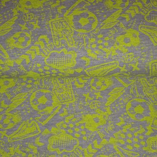 Tricot neon geel football