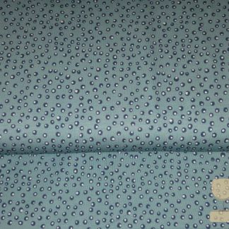 Tricot little king swafing dots blue