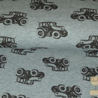 Tricot Fritz tractor groen