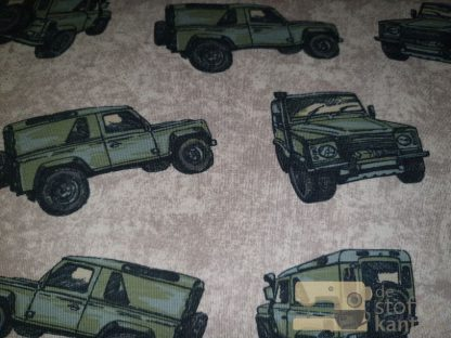 French terry brushed jeeps