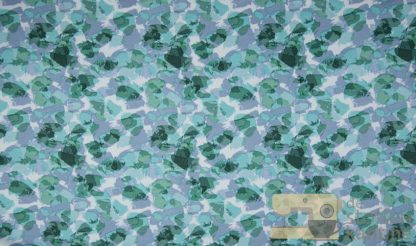 Organic french terry stains dusty green